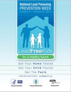 Lead Poisoning Prevention poster