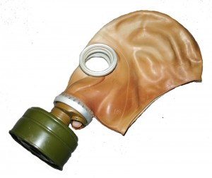 Russian G-5 gas mask