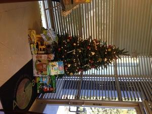 Customer Donations to the Toy Drive