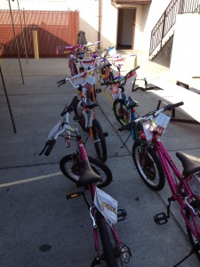 Bicycles for We Care ELA