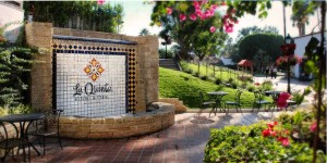 La Quinta Resort entrance