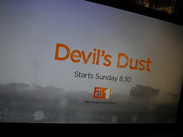 Devil's Dust title screen