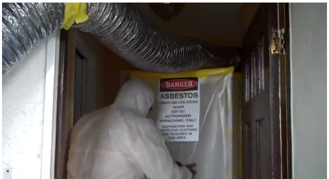 Asbestos Duct Removal from YouTube