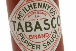 Tabasco Sauce label