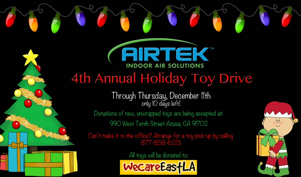10 Days for Toy Drive